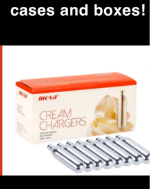 Mosa Cream Chargers Crates SmartWhip CRATES Wholesale.