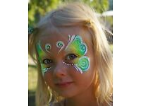 Face Painting for Your Summer Event - Parties, Weddings, Festivals & Fairs!