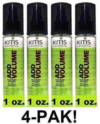 KMS California ADD VOLUME Volumizing Spray 1 oz. Travel Size *4-PAK* Free (Add Volume Volumizing Spray)