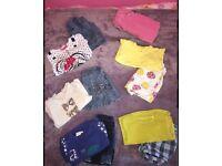 Baby Girls 9-12m clothing bundle - NEXT, BLUEZOO
