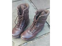 Army cadet patrol boots size 4