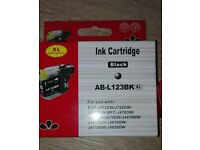 Two black Ink Cartridges and one free red ink cartridge