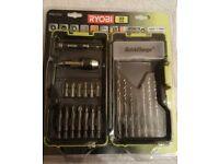 Ryobi 22 piece quick change drill bit set