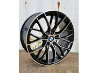 NEW 20'' M PERFORMANCE 405 STYLE ALLOY WHEELS X4 BOXED 5X120 3 4 5 SERIES F30 F10 E92