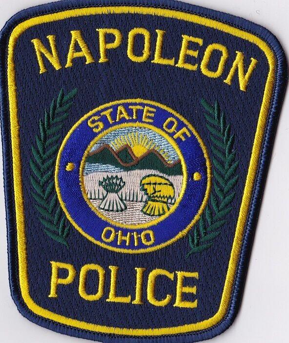 Napoleon Police Patch Ohio OH