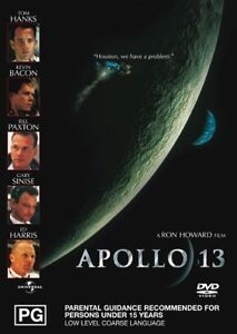 APOLLO-13-DVD-Tom-Hanks-Kevin-Bacon-Bill-Paxton-Ed-Harris-Gary-Sinise-SEALED-R4