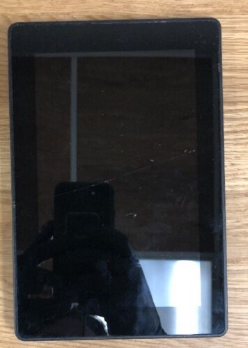C8 Kindle Fire HD 7-Inch 8GB 5th Gen Wi-Fi Tablet Black As Is