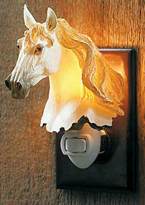 """Wild Wings"" Night Light - GRAY HORSE - #WW-NL-42681"
