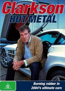 Clarkson Hot Metal New Sport Ultimate Cars DVD Rating G R4 Free Fast Shipping