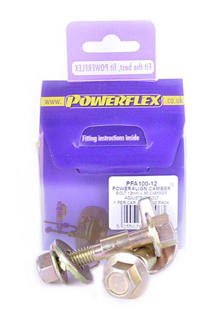 Fiat 500 inc ABARTH 07- POWERFLEX PowerAlign Camber Bolts 12mm PFA100-12