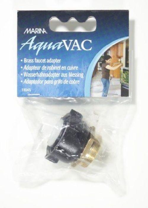 Marina Aquarium Hose AquaVac Aqua VAC Brass Faucet Adapter Connector ...