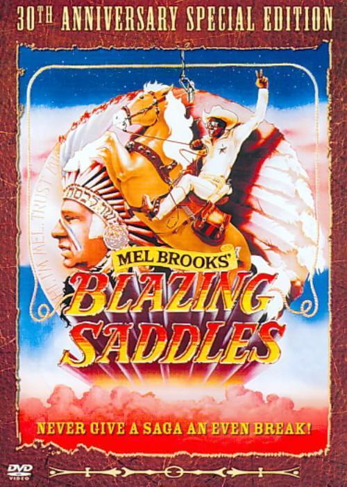 BLAZING SADDLES NEW DVD