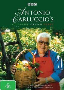 Antonio Carluccio's Southern Italian Feast (DVD, 2009)  New, ExRetail Stock, D79