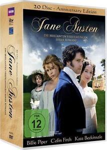 20  DVD-Box Jane Austen:Die brillanten Verfilmungen ihrer Romane im 20 Disc-Set