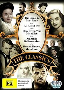 Classics Collection (DVD, 2011, 5-Disc Set) R4 PAL NEW & SEALED FREE POST