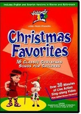 New: CHRISTMAS FAVORITES - 16 Classic Songs, Holiday, Children [E5/DVDTOP] ()