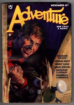 "Adventure Nov 15 1934 Wittmack Cvr; Gordon Young ""Red of the Arrowhead"""