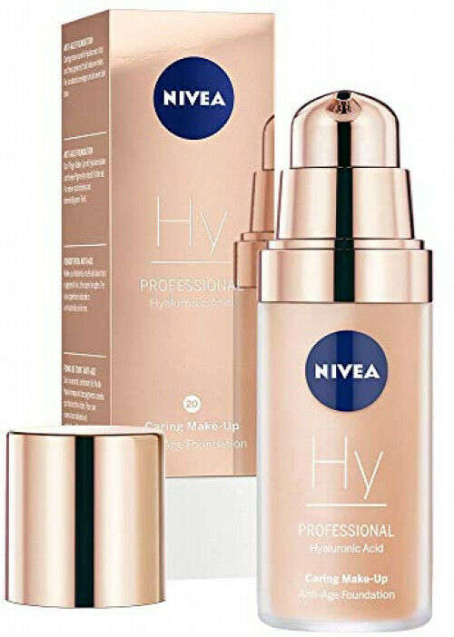 NIVEA PROFESSIONAL Hyaluronsäure Make-Up Anti-Age Foundation Anti-Falten 30 ml