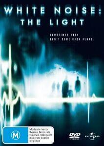 White Noise - The Light (DVD, 2007) REGION 4 DVD (50)