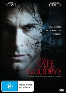 Too Late To Say Goodbye (DVD, 2010)