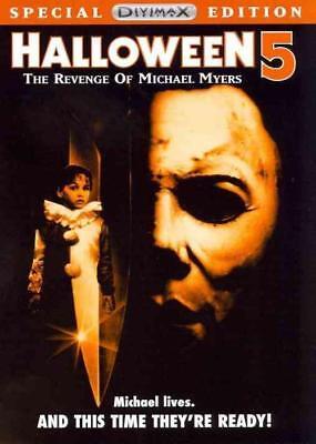 HALLOWEEN 5: THE REVENGE OF MICHAEL MYERS NEW DVD - Halloween The Revenge Of Michael Myers