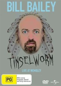 Bill Bailey : Tinsleworm (2007) - NEW DVD - Region 4