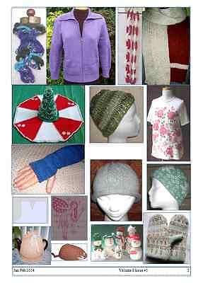 Knitting Machine Magazine - Great patterns- Easy to knit- Vol 8 #3 For all