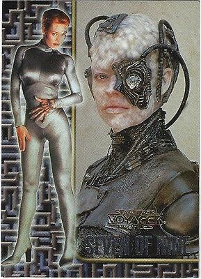 TC Star Trek Voager Profiles Seven of Nine 1 of 9