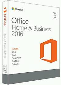 Microsoft Office 2016 Home&Business Genuine For Mac