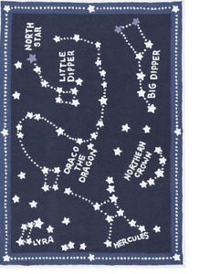 Pottery Barn Constellation Rug - Space Themed