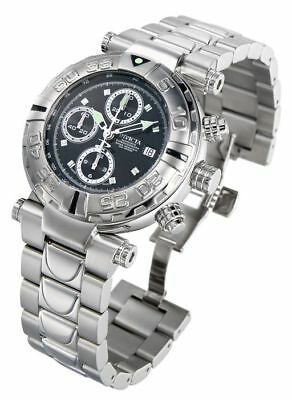 New Mens Invicta 4369 Reserve Swiss Valijoux 7750 Automatic Steel Bracelet Watch