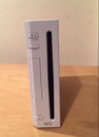 Nintendo Wii And One Nunchuck Controller