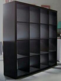 Ikea Expedit shelving unit + Lack tv stand