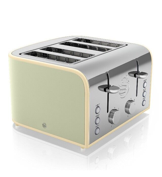 Sage Green Swan Double Toaster In York North Yorkshire