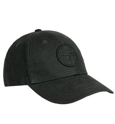 SALE BRAND NEW BLACK BLUE OR GREEN STONE ISLAND BASEBALL CAP