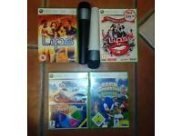 Xbox360 console and games