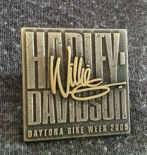 HARLEY DAVIDSON MOTORCYCLES WILLIE G STURGIS 2005 DAYTONA BEACH COLLECTIBLE PIN