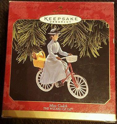 Hallmark Keepsake Ornament: MISS GULCH - The Wizard of - Miss Gulch Wizard Of Oz