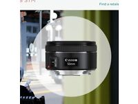 Want to trade Canon 50mm f1.8 STM Prime + cash for 24mm f2.8 STM Prime Lens