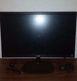 "LG 24M35H-B Flatscreen LCD PC Monitor 24"" HDMI Widescreen -- RRP £160"