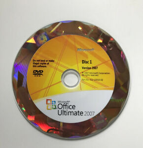 Mint Condition- MICROSOFT Office 2007 Full Version