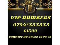 Vip Gold Mobile Number 333333