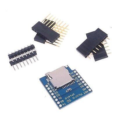1pcs Micro Sd Card Shield For Wemos D1 Mini Tf Wifi Esp8266 Arduino K85