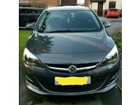 Vauxhall Astra 2014 Sri and vrx styling kit