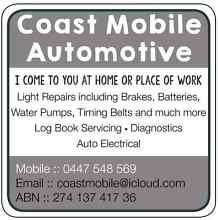 Mobile Mechanic  Ningi Caboolture Area Preview