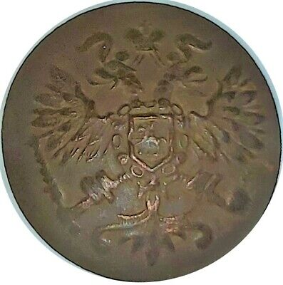 1870-1890 IMPERIAL RUSSIA HIGH RANKED MILITARY BUTTON  #WT4066