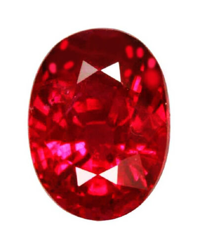 1.48Cts GCI Certify Top Luster Natural Pinkish Red Burmese Ruby Loose Gemstone