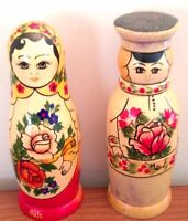 Antique Salt and Pepper Shakers From Germany