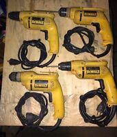 """Lot of DeWalt 3/8"""" VSR driver/drills"""