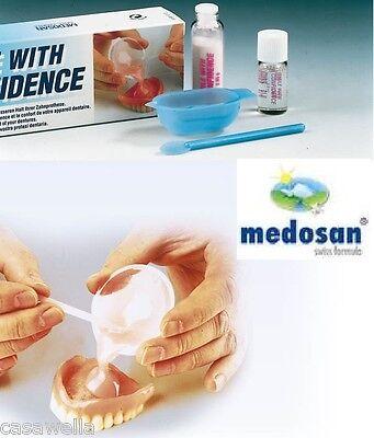 Zahnprothesen Haftmittel Medosan - Sehr einfach in der Anwendung